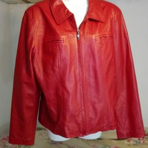 Gallery Misses XL Leather Jacket
